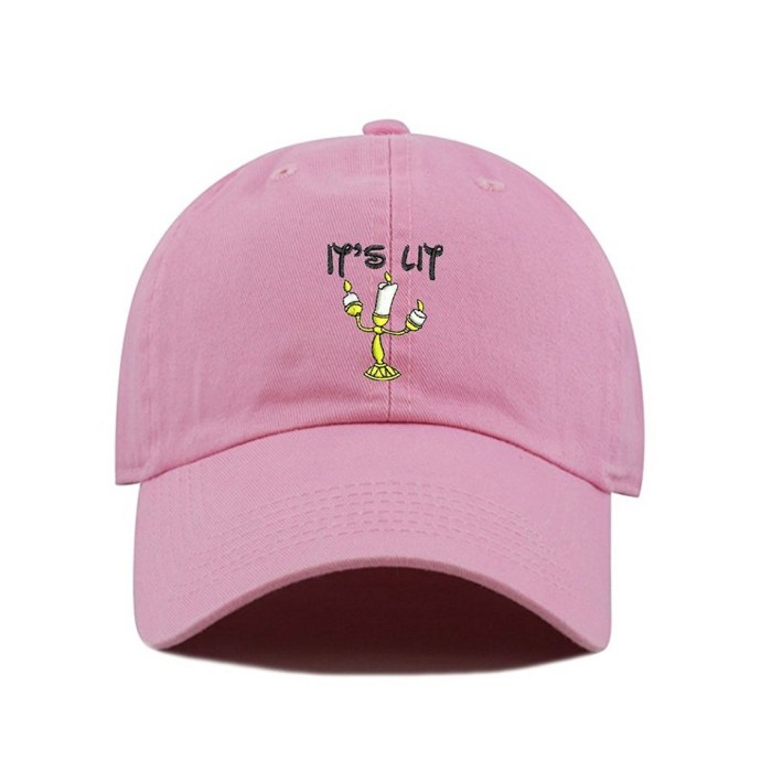 Its LIT (Candle) Dad Hat Cotton Polo Style Low Profile Baseball Cap