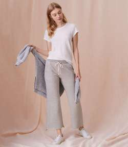 Sundry Grey Flare Sweatpants