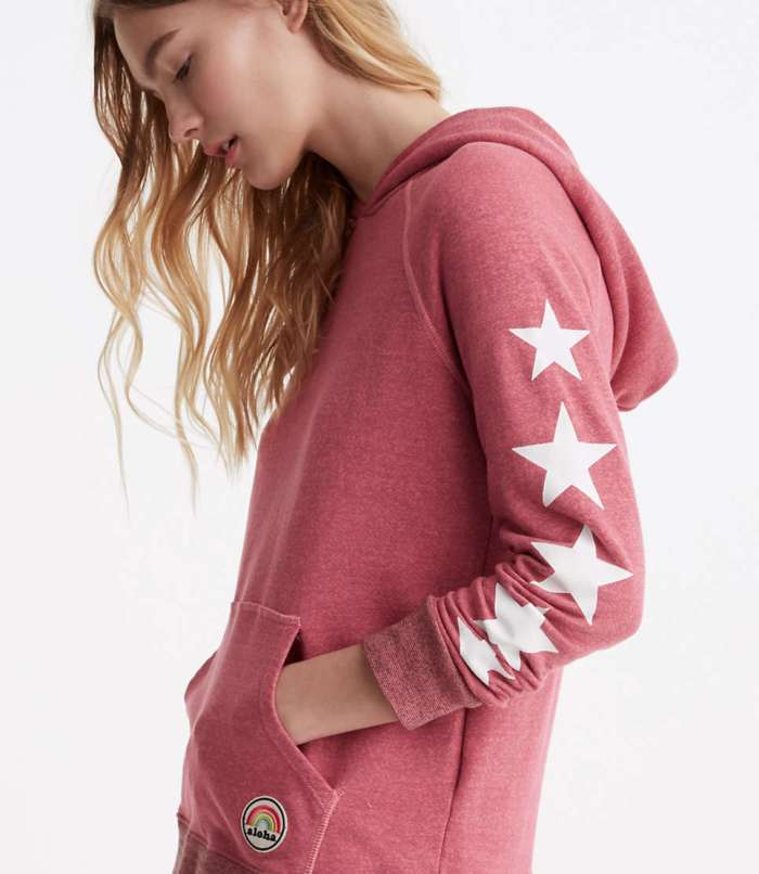 Sundry Stars and Patches Hoodie