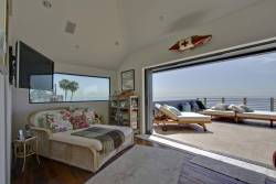 Architectural Tropical Malibu Beachfront Lease Las Flores 20900 Pacific Coast Hwy