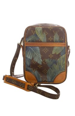 Vintage Louis Vuitton Danube Palm Leaf LV Crossbody Bag
