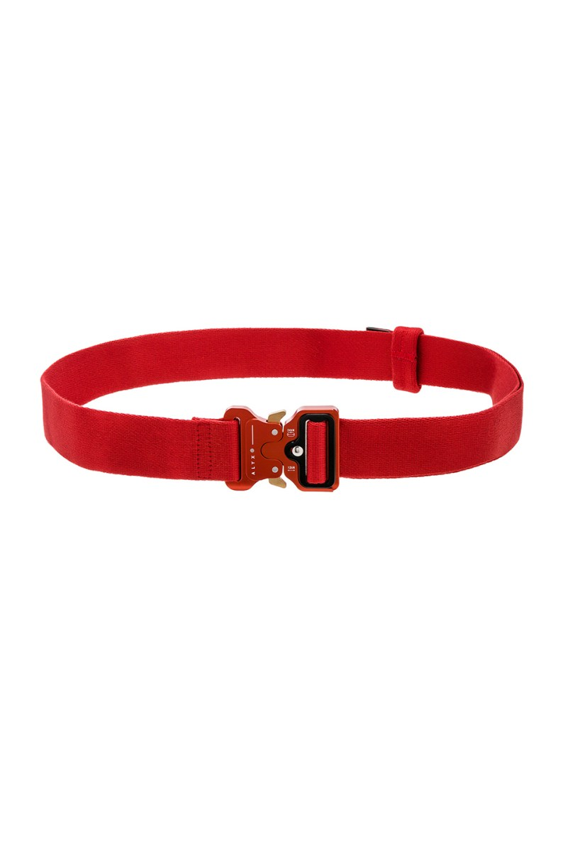 ALYX Classic Red Rollercoaster Belt