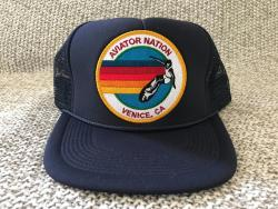 AVIATOR NATION VENICE CA MESH TRUCKER CAP SNAPBACK HAT