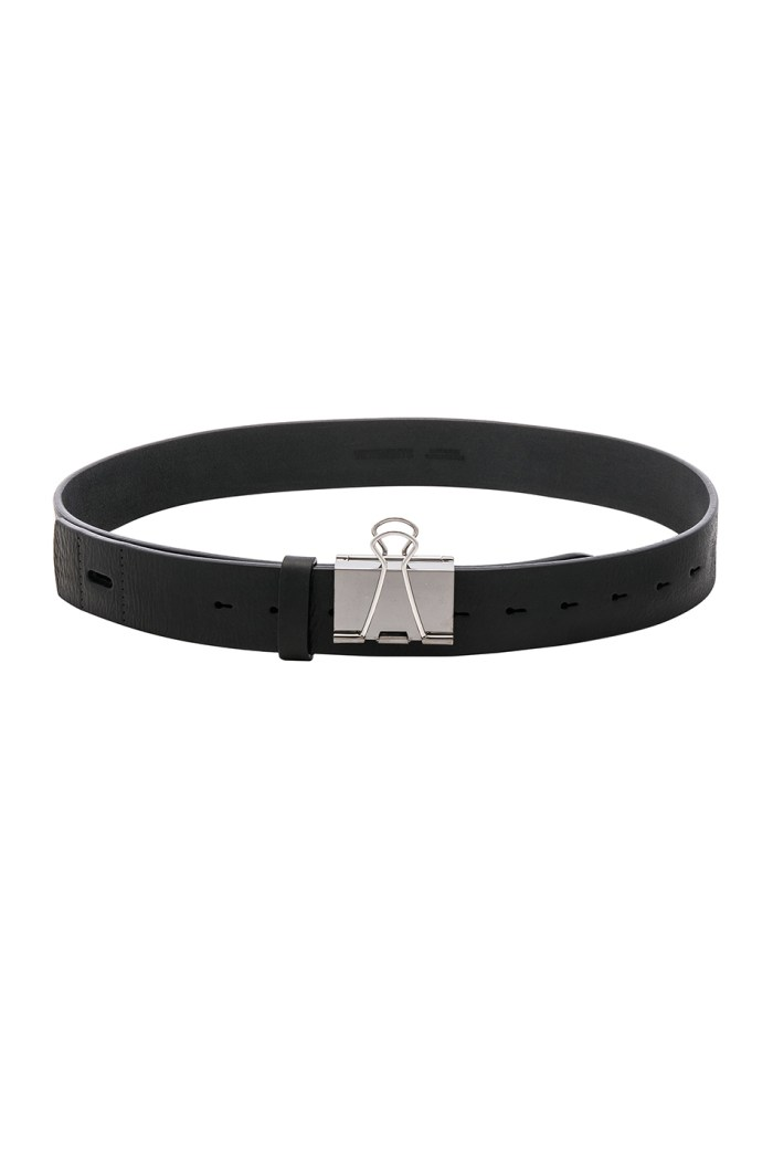 VETEMENTS Mens Paperclip Belt