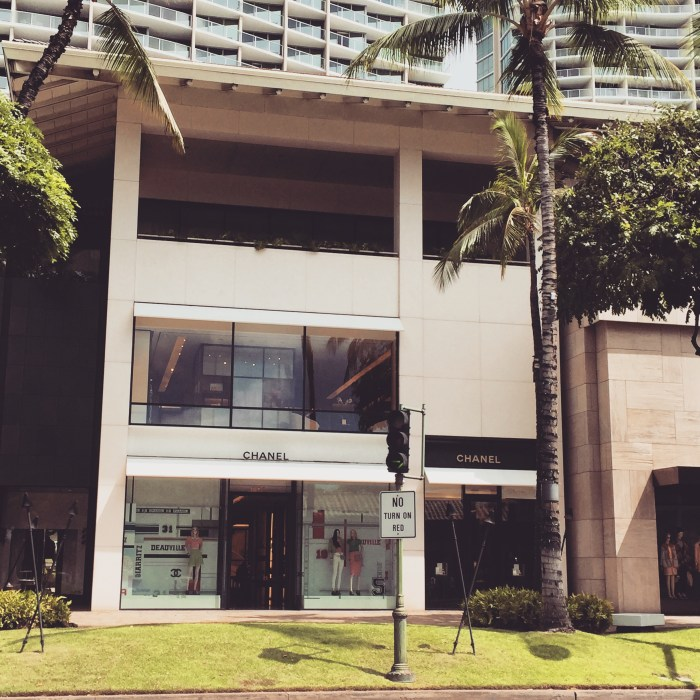 Chanel Boutique Store in Waikiki Hawaii