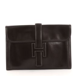 Hermes Jige Clutch Box Calf PM Bag from Ebay