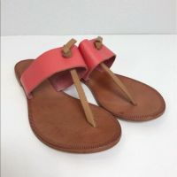 Womens Joie A La Plage Nice Leather Sandals Made in Italy size 37 Euro 7 US