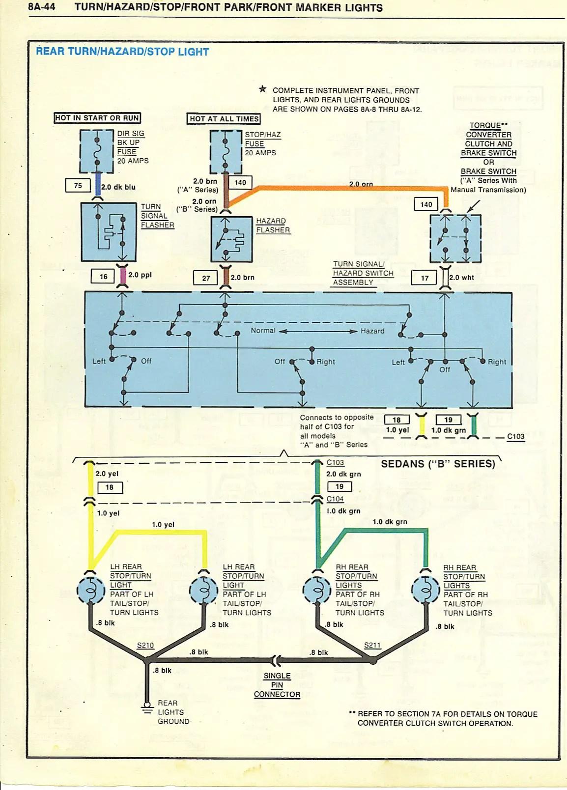 1985 Chevrolet Monte Carlo Ss Wiring Schematic