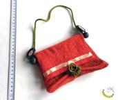 borsetta - lana - Malice's Craftland - riciclo creativo -