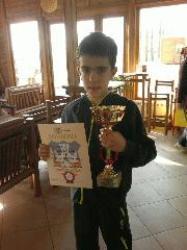 Марко Јовановић освојио тениски турнир IV категоријe за дечаке до 12 година у ТК Викторија