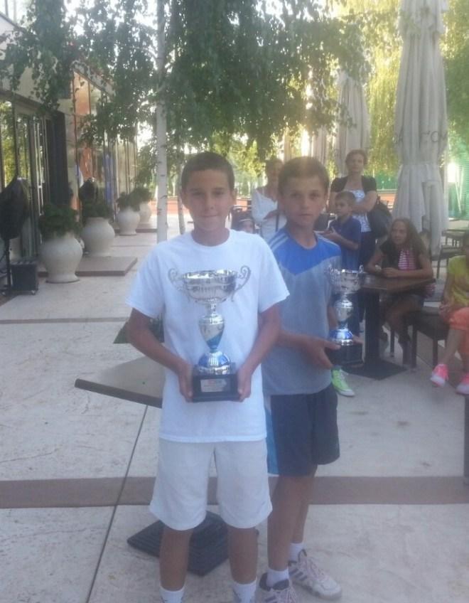 Letnje prvenstvo Srbije u tenisu do 12 godina 2014, Teniski centar Novak