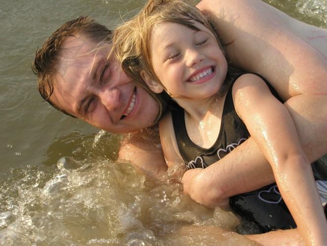 Tata i ćerka, dečji sport