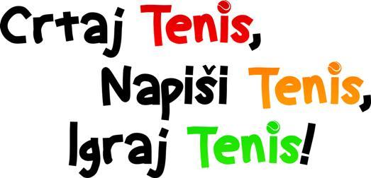 Crtaj, napiši, igraj tenis, Teniski klub Topaco