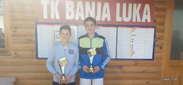 Drazen Petrović i Vladan Tadić, Meridijan kup 2015, Teniski klub Banja Luka