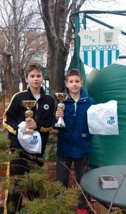 Лука Здравковић освојио ОП Београда до 12 година у ОТК Београд (IV кат)