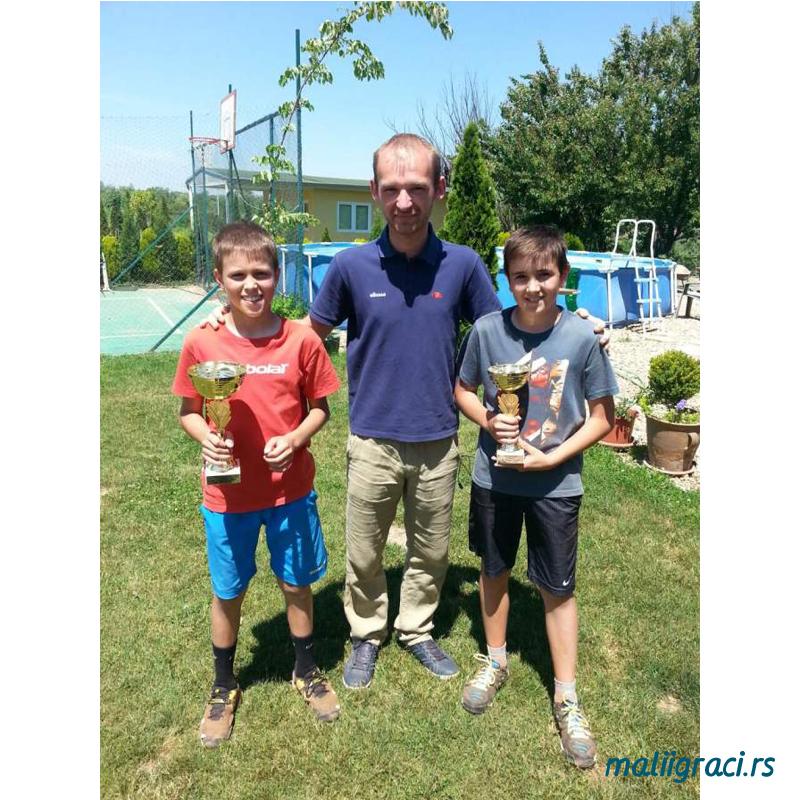 Bojan Radoman i Mihajlo Lasica, finalisti Otvorenog prvenstva Beograda u TK Winner