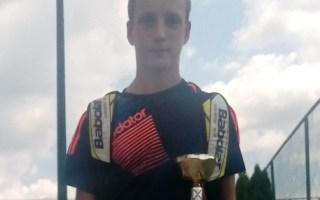 Stefan Spasojević, Otvoreno prvenstvo Aranđelovca u tenisu do 16 godina, Teniski klub Ivančevic Sport Aranđelovac
