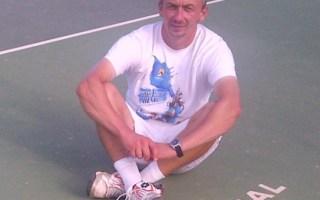 Teniski trener Dejan Vukojičić