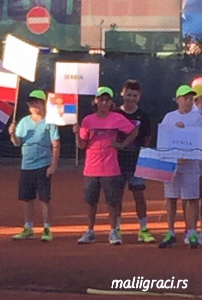 Stefan Popović, Mateja Janicijević, Torneo U12 Porto San Giorgio, Tennis Europe Junior Tour