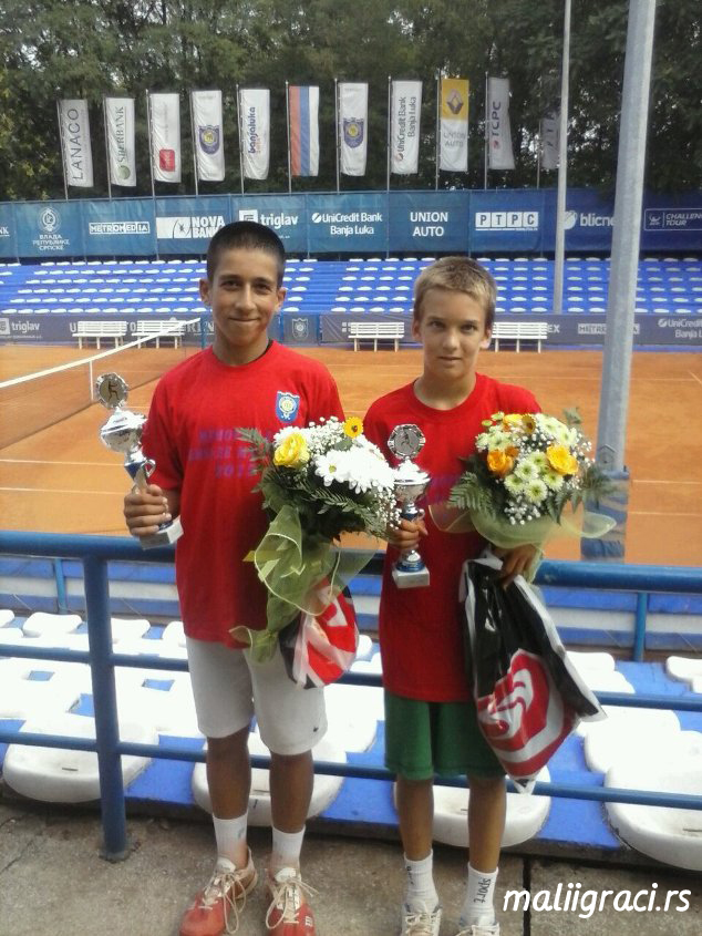 Jovan Sinadinović, Đorđe Janković, Memorijal Nikole Marića do 12 godina, Teniski klub Mladost Banja Luka