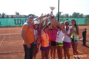 Екипно првенство Србије за девојчице до 12 година, ТК Winner Београд, 14-16.9.15.