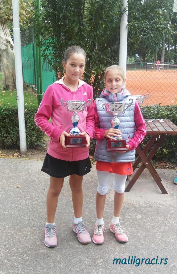 Lola Radivojević, Anđela Lazarević, Kup Srbije u tenisu do 10 godina, Teniski klub ŽAK Sombor