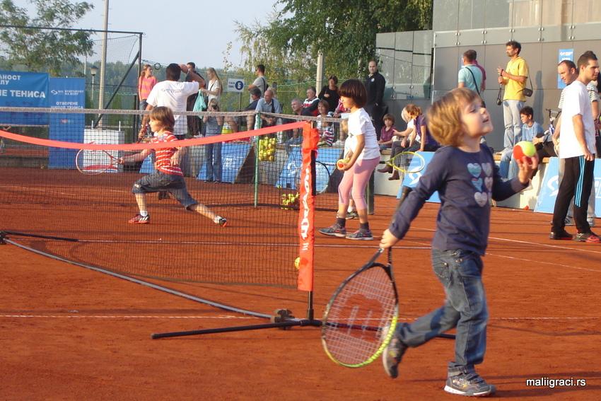 NIS Otvorena škola tenisa, Teniski savez Srbije, Teniski centar Novak