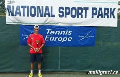 Obrad Markovski, National Sport Park Open Tirana, Albania