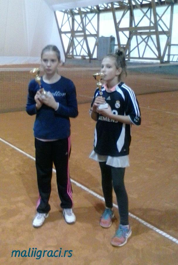 Anđela Simić, Mia Ristić, Otvoreno prvenstvo Zaječara do 10 godina, Teniski klub Euroclub Zaječar