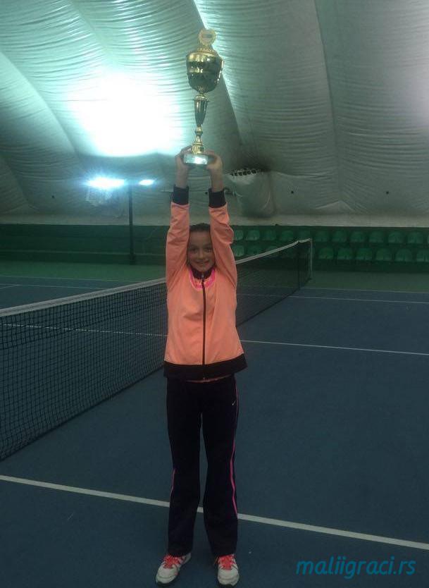 Fatma Idrizović, Dvoransko prvenstvo Srbije u tenisu do 12 godina, Teniski klub Trim Beograd