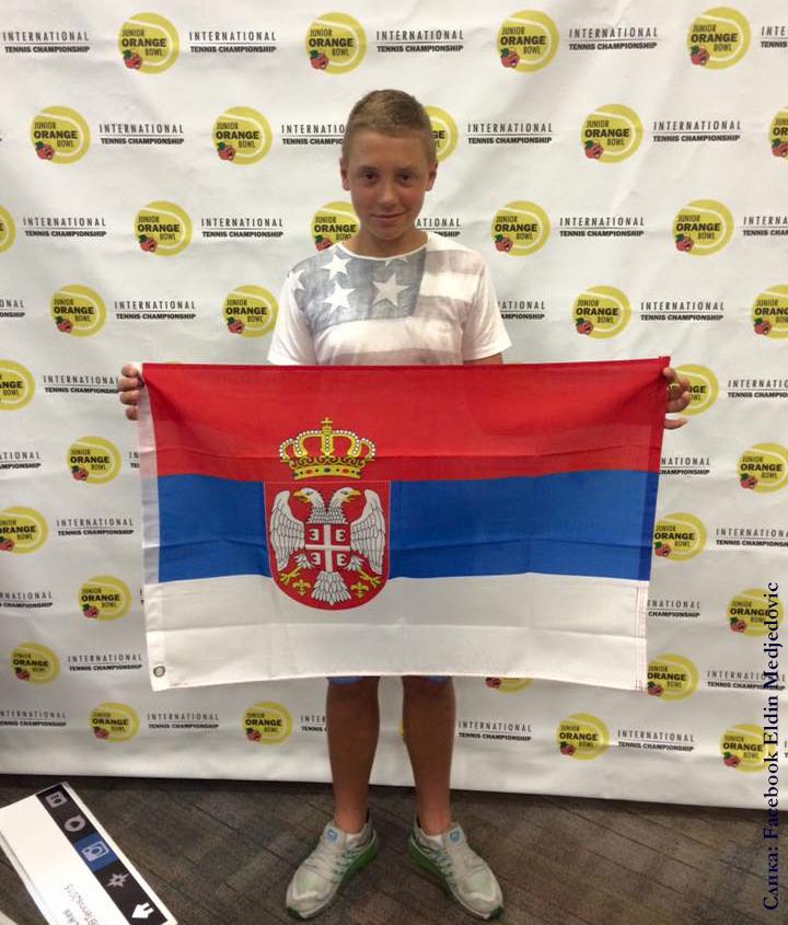 Hamad Međedović, Junior Orange Bown International Tennis Championships 2015