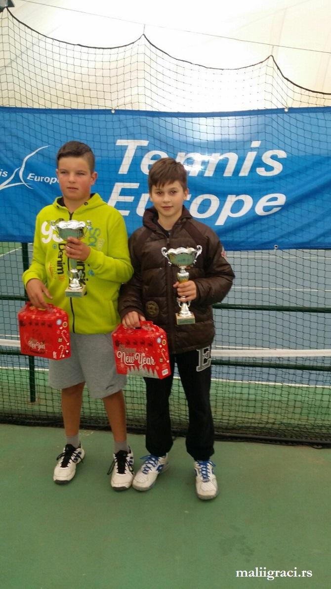Nikola Jovanović, Mili Poljičak, Belgrade Open 2016 U12, Tennis Europe Junior Tour, Teniski klub Trim Beograd