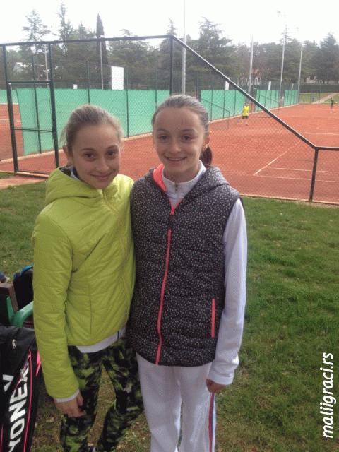 Lucija Ćirić Bagarić, Fatma Idrizović, Umag Tennis Academy, Memorijal Slavoj Greblo Umag, Tennis Europe Junior Tour 2016
