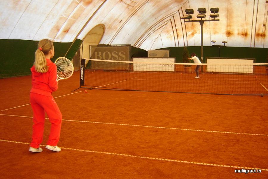 Igram, učim, sakupljam...4, dečji teniski turnir, Dečiji svet tenisa, Teniski klub Colonial Sun Beograd