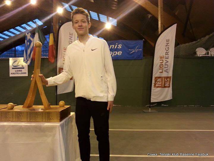 Mihailo Popović, Le Chambon-sur-Lignon 15-16, Tennis Europe Junior Tour