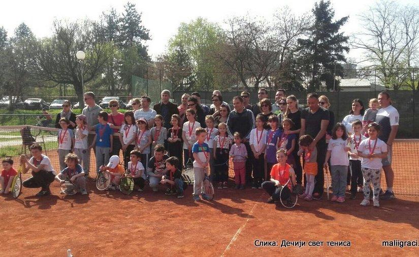 Turnir Igraj i pobedi, Skoplje, Škola tenisa Play & Win, TK Astibo Štip, Dečiji svet tenisa