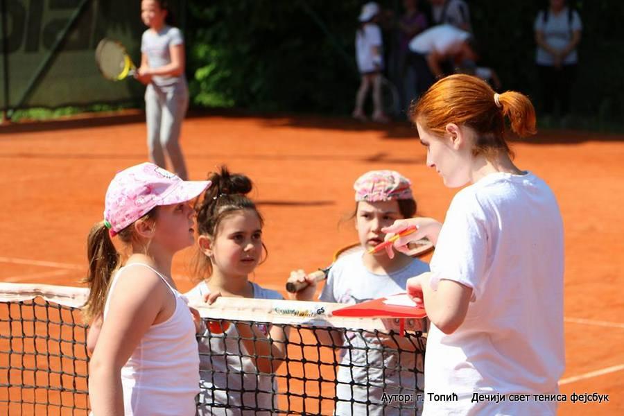 Igram, učim, sakupljam...5, dečji teniski turnir, Dečiji svet tenisa, Teniski klub Banjica Beograd