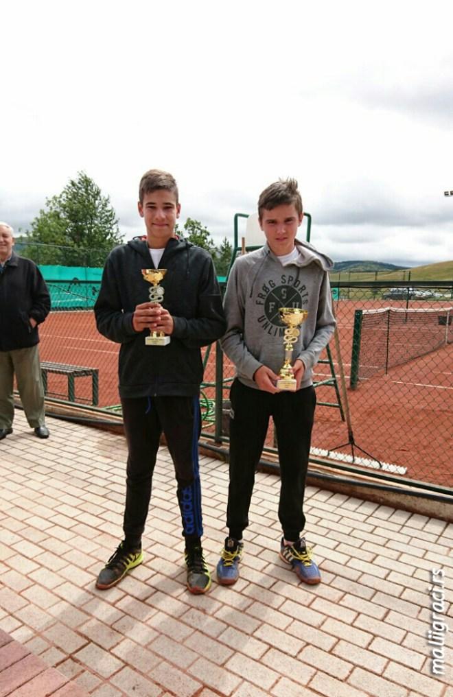 Dimitrije Kocić, Konstantin Todorović, Otvoreno prvenstvo Zlatibora do 14 godina, Teniski klub Zlatibor Springs