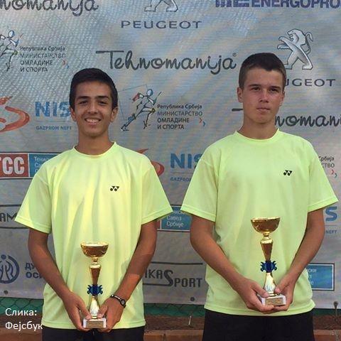 Stefan Dragović, Mihajlo Drobnjaković, Niš Open 2016 U16, Tennis Europe Junior Tour, Teniska akademija Živković Niš