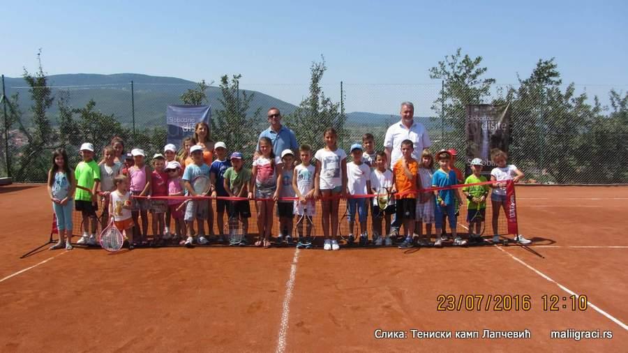 Otvoreno prvenstvo Sokobanje do 8 godina, crveni nivo, Teniski kamp Lapčević Sokobanja