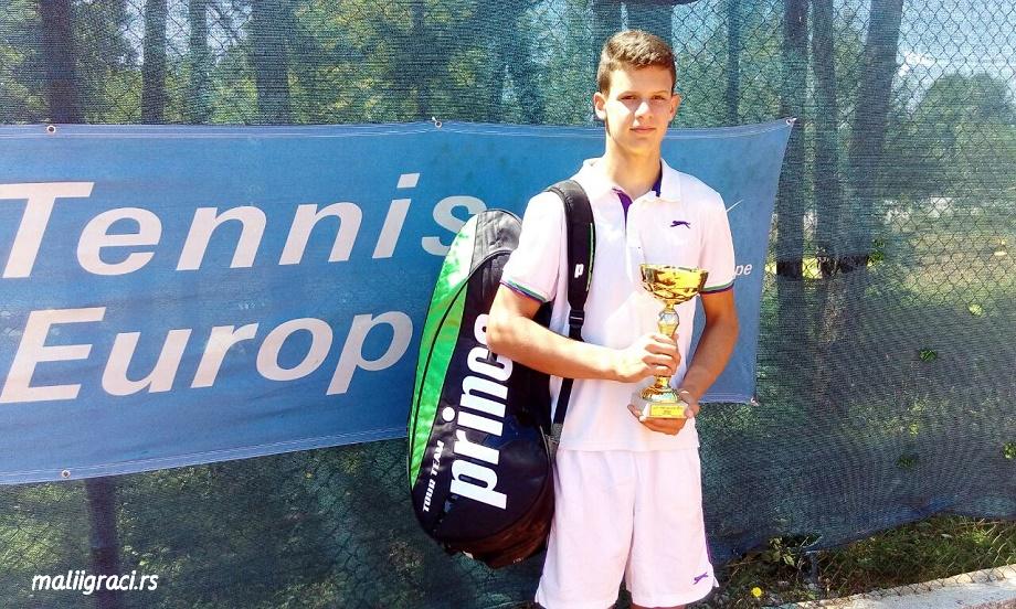 Vanja Dobrnjac, Nikšić Open 2016 U16, Tennis Europe Junior Tour, Teniski klub Nikšić