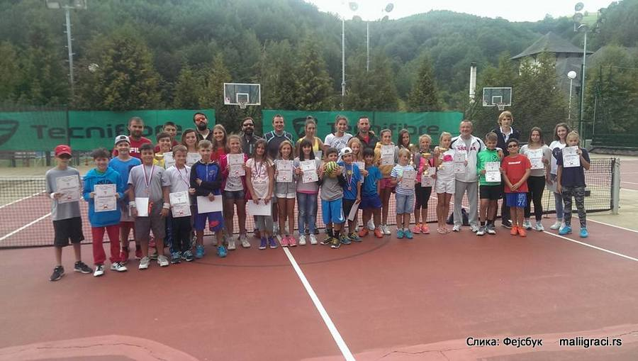 Letnji teniski kamp Tipsarević Kopaonik 2016, Teniska akademija Tipsarević Beograd