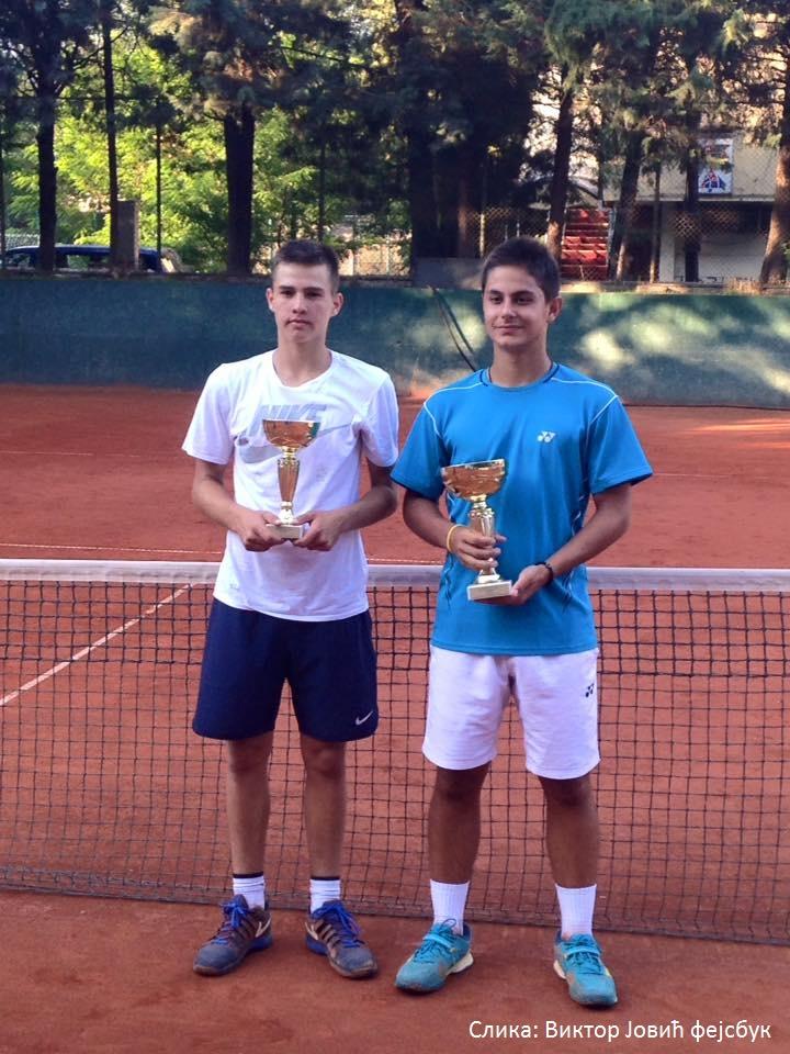 Viktor Jović, Mihail Kuseski, Neotel Open 2016 U16, Teniski klub Jug Skopje, Tennis Europe Junior Tour