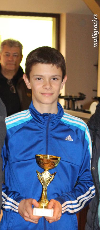 Nikola Cvetanović, Teniska akademija Živković Niš