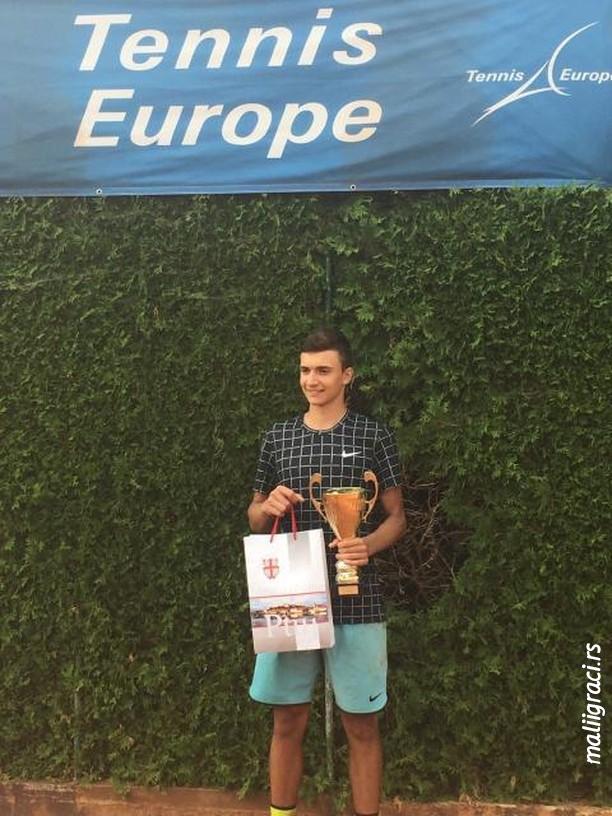 Lazar Milićević, Terme Ptuj Open U16 Slovenija, Tennis Europe Junior Tour, Teniski klub Terme Ptuj