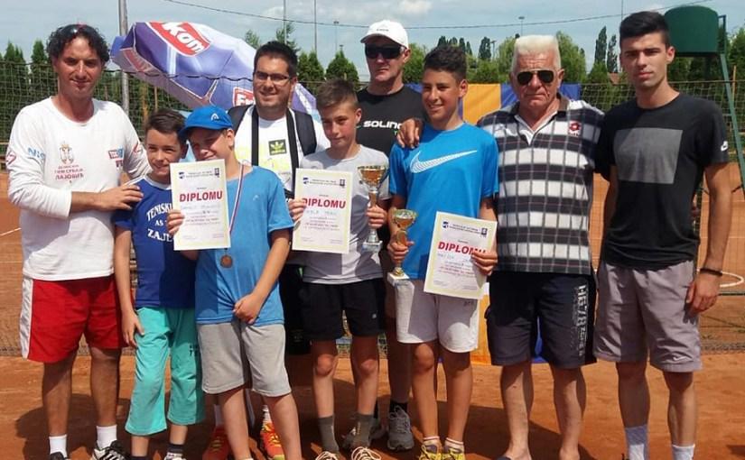 Nikola Perić, Dario Petković, Otvoreno prvenstvo Zaječara za dečake do 12 godina, Teniski klub As Timok Zaječar