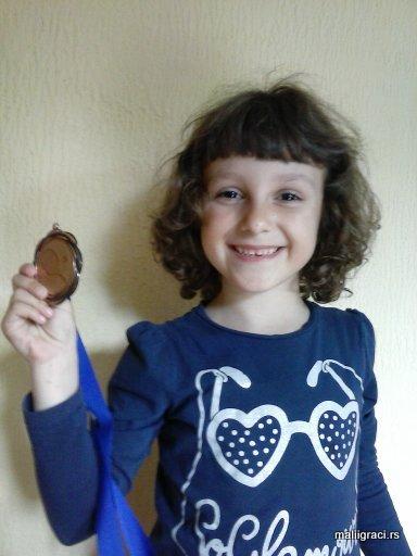 Mala teniserka Dušica Popovski, Teniski klub Dinamo Pančevo