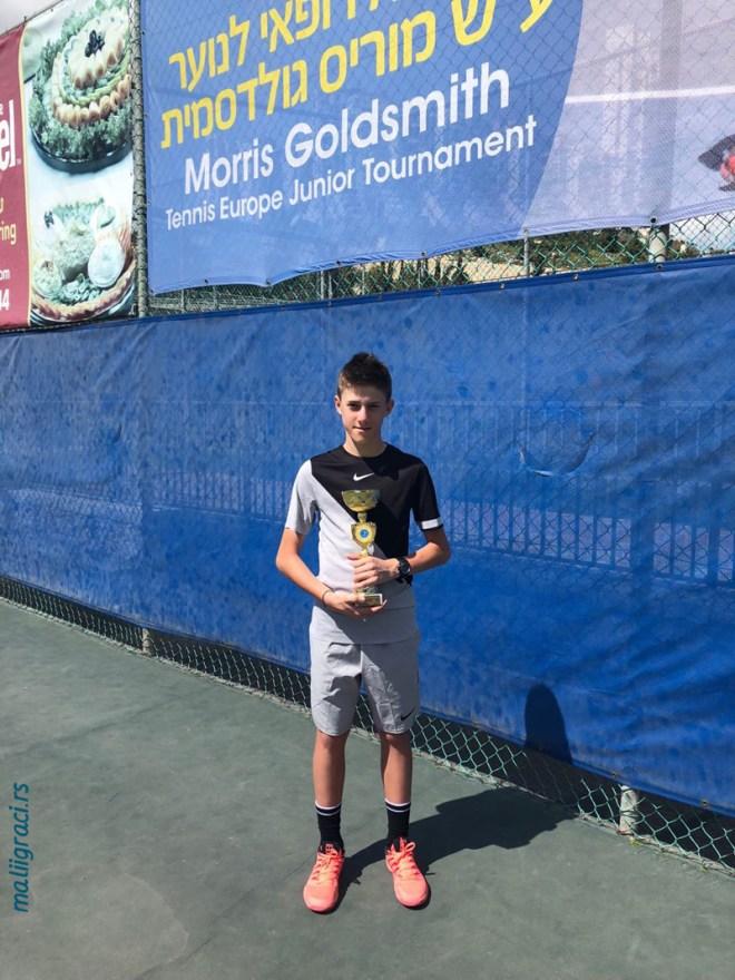 Branko Đurić, Morris Goldsmith Memorial Jerusalim Izrael U14, Jerusalem, Israel, Tennis Europe Junior Tour