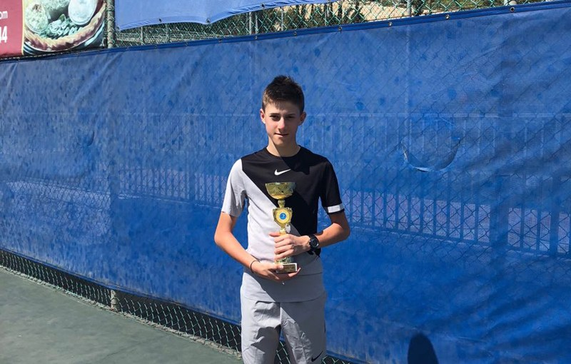 Branko Đurić, Morris Goldsmith Memorial Jerusalim Izrael U14, Jerusalem, Israel, Tennis Europe Junior Tour