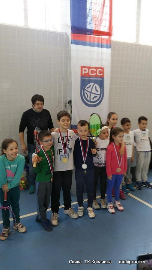 Otvoreno prvenstvo Kovačice do 8 godina crveni nivo, Teniski klub Kovačica